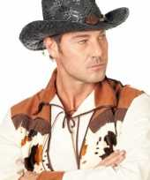 Carnavalskleding zwarte cowboyhoed stro roosendaal