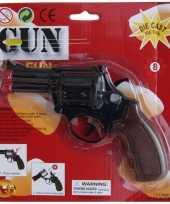 Carnavalskleding zwarte speelgoed politie revolver schoten roosendaal