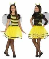 Dierencarnavalskleding bij bijen verkleed jurk jurkje meisjes roosendaal